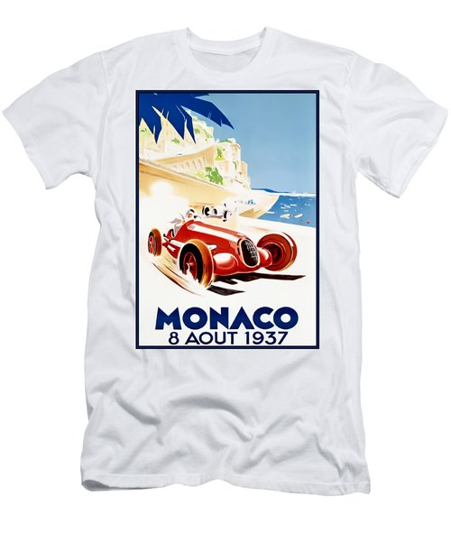 Monaco Grand Prix 1937 Men's T-Shirt (Athletic Fit)