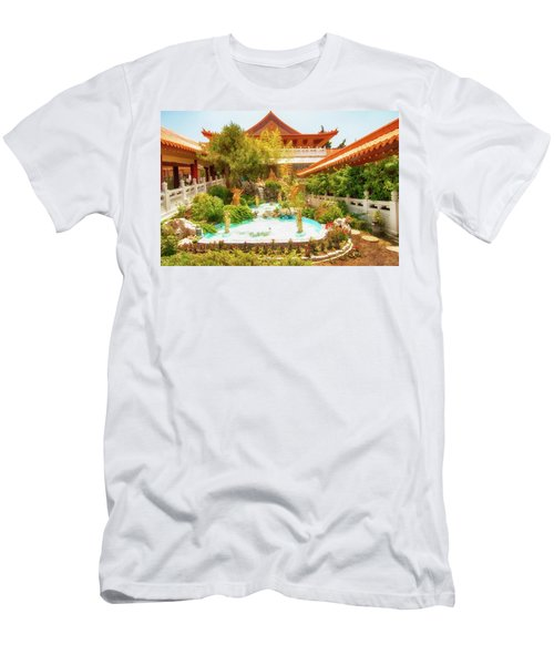 Men's T-Shirt (Slim Fit) featuring the photograph Monastery by Joseph Hollingsworth