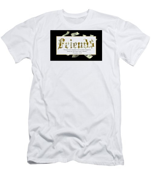 Money Friends Men's T-Shirt (Athletic Fit)