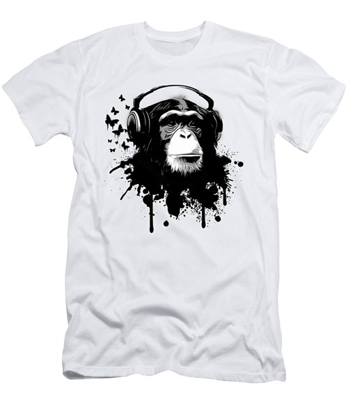 Monkey Business Men's T-Shirt (Slim Fit) by Nicklas Gustafsson
