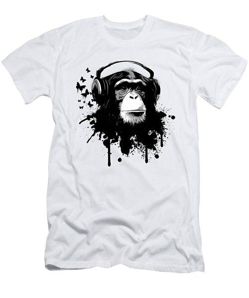 Monkey Business Men's T-Shirt (Athletic Fit)