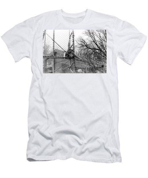 Monkey Grab  Men's T-Shirt (Athletic Fit)