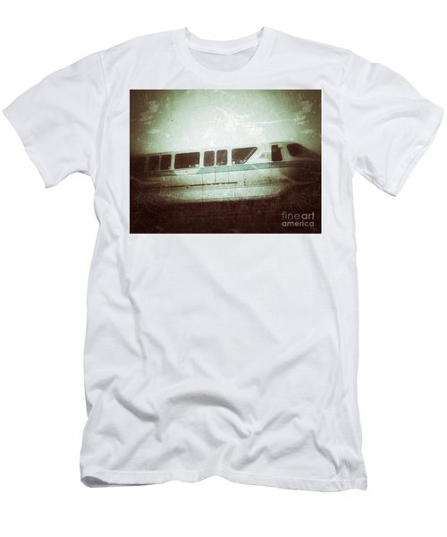 Monorail Men's T-Shirt (Slim Fit) by Jason Nicholas