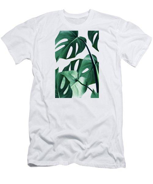 Monstera Men's T-Shirt (Slim Fit) by Uma Gokhale