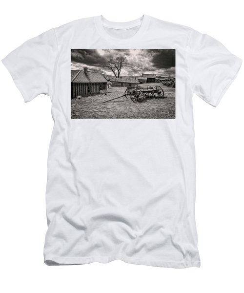 Men's T-Shirt (Athletic Fit) featuring the photograph Montana Ghost Town by Scott Read
