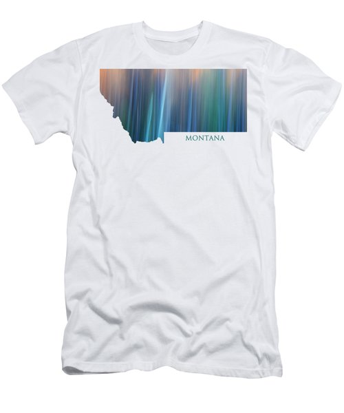 Montana In Pastel Men's T-Shirt (Athletic Fit)