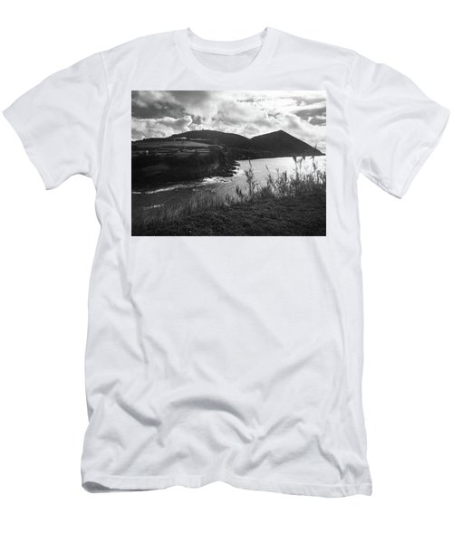 Men's T-Shirt (Athletic Fit) featuring the photograph Monte Brasil, Terceira by Kelly Hazel