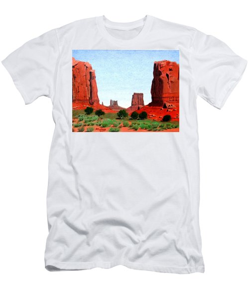Monument Valley North Window Men's T-Shirt (Athletic Fit)