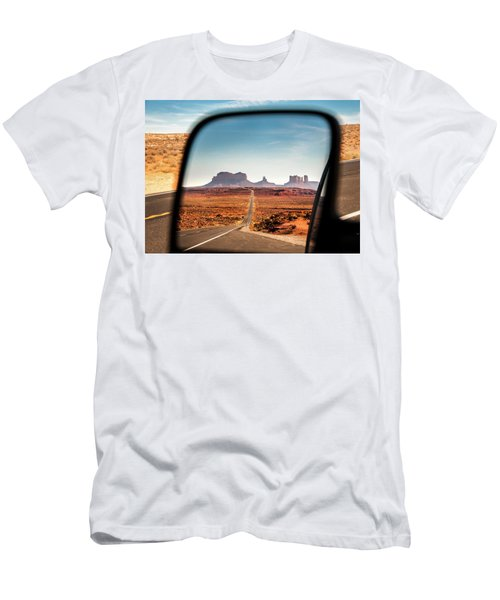 Monument Valley Rearview Mirror Men's T-Shirt (Athletic Fit)