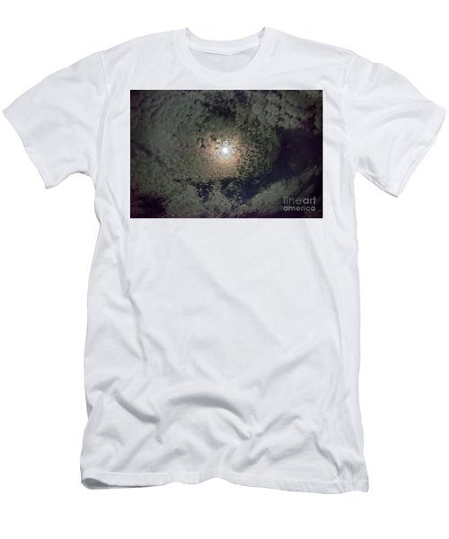 Moon And Clouds Men's T-Shirt (Athletic Fit)