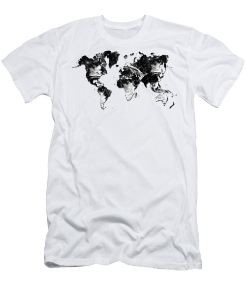 Moon Craters Men's T-Shirt (Athletic Fit)