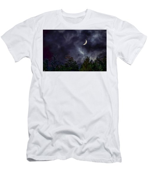 Moon Shine Over The Okanagan Men's T-Shirt (Athletic Fit)