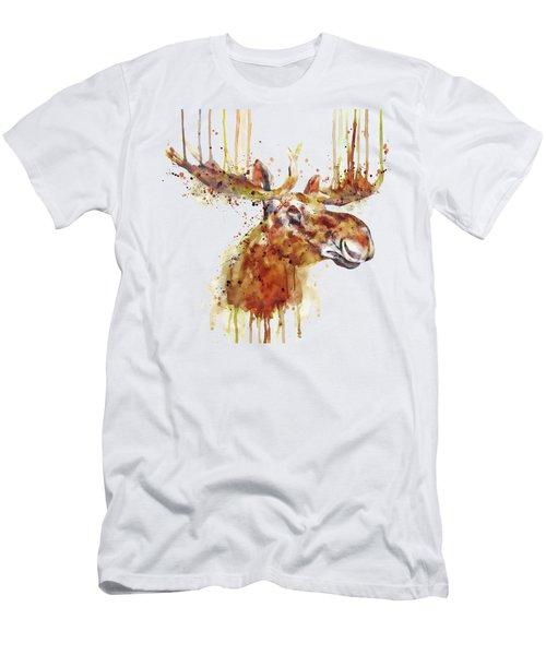 Moose Head Men's T-Shirt (Athletic Fit)