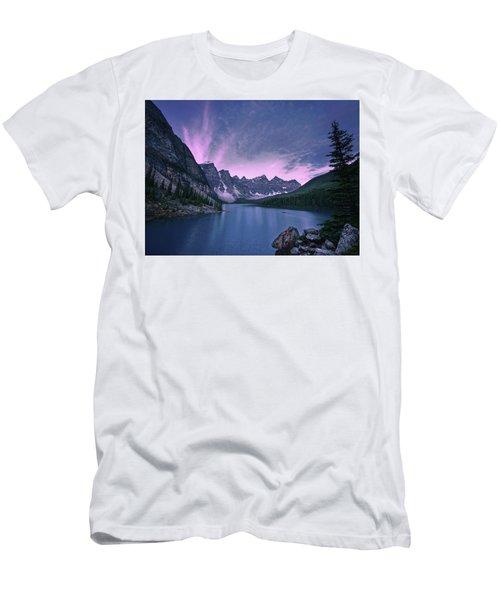 Moraine Lake Men's T-Shirt (Athletic Fit)