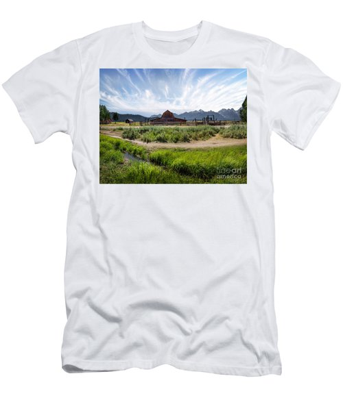 Mormon Row Morning Men's T-Shirt (Athletic Fit)