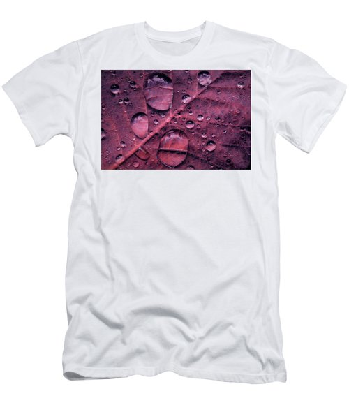 Men's T-Shirt (Athletic Fit) featuring the photograph Morning Catch by Gene Garnace