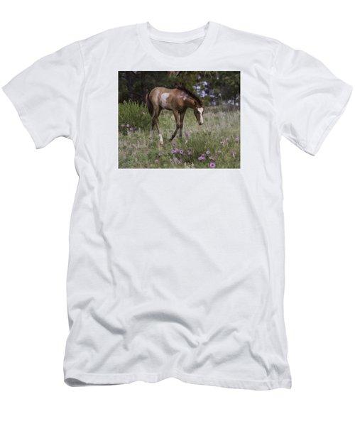 Morning Glory Men's T-Shirt (Slim Fit) by Elizabeth Eldridge