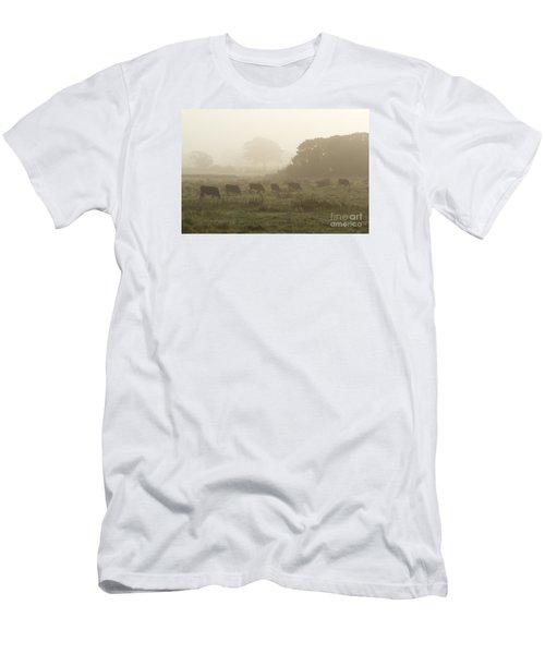 Morning Graze Men's T-Shirt (Slim Fit) by Gary Bridger