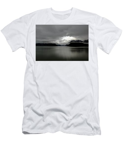 Morning In Alaska Men's T-Shirt (Athletic Fit)
