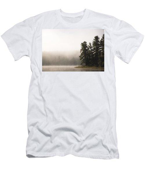 Morning Mist On Mew Lake Men's T-Shirt (Athletic Fit)