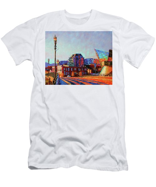 Morning Rush - The Corner Of Salem Avenue And Williamson Road In Roanoke Virginia Men's T-Shirt (Athletic Fit)