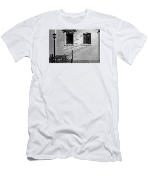 Men's T-Shirt (Slim Fit) featuring the photograph Morning Shadows by Monte Stevens