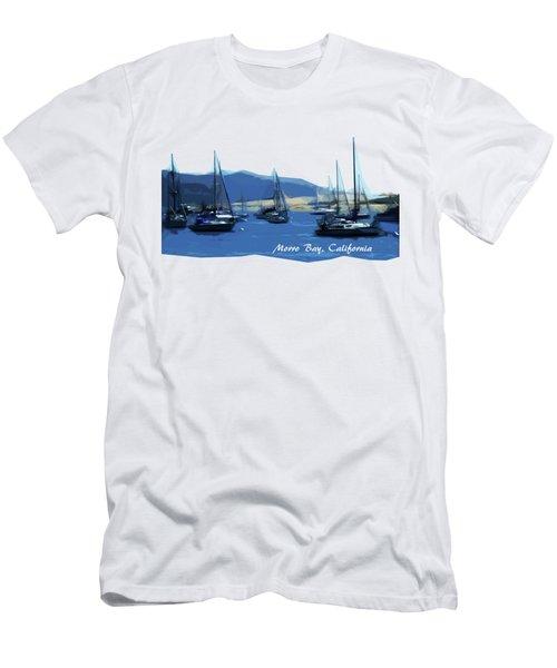 Morro Bay California Men's T-Shirt (Athletic Fit)