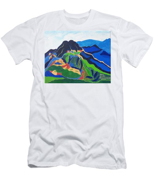 Mount Canigou Men's T-Shirt (Athletic Fit)