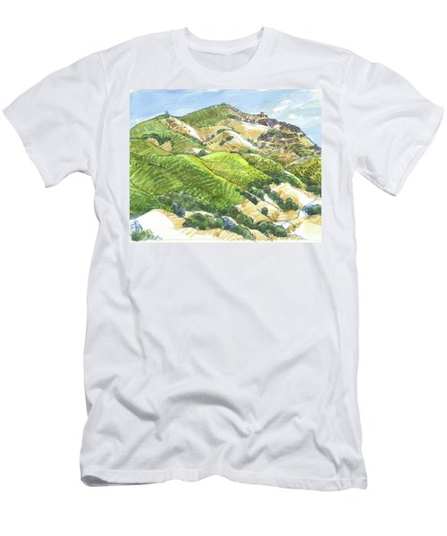 Mount Diablo From Curry Point Men's T-Shirt (Athletic Fit)