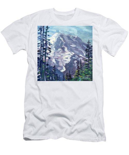 Mount Rainier From Sunrise Point Men's T-Shirt (Athletic Fit)