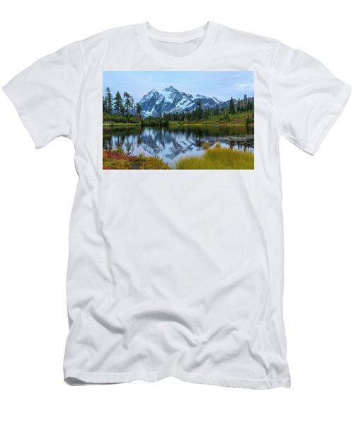 Mount Shuksan And Picture Lake Men's T-Shirt (Athletic Fit)