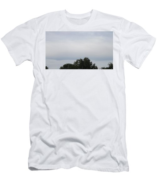 Mountain Clouds 3 Men's T-Shirt (Slim Fit) by Don Koester