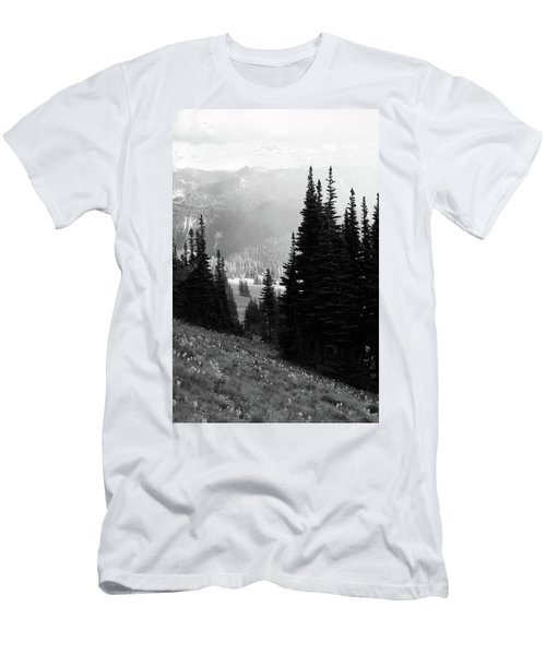 Mountain Flowers Men's T-Shirt (Athletic Fit)