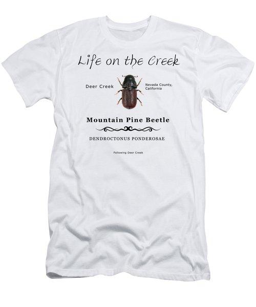 Mountain Pine Beetle Color Men's T-Shirt (Athletic Fit)