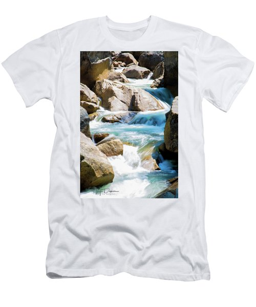 Mountain Spring Water Men's T-Shirt (Athletic Fit)