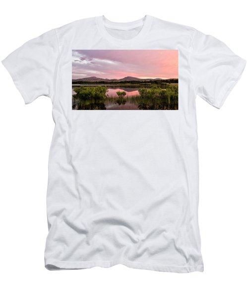 Mountain Sunrise Men's T-Shirt (Athletic Fit)