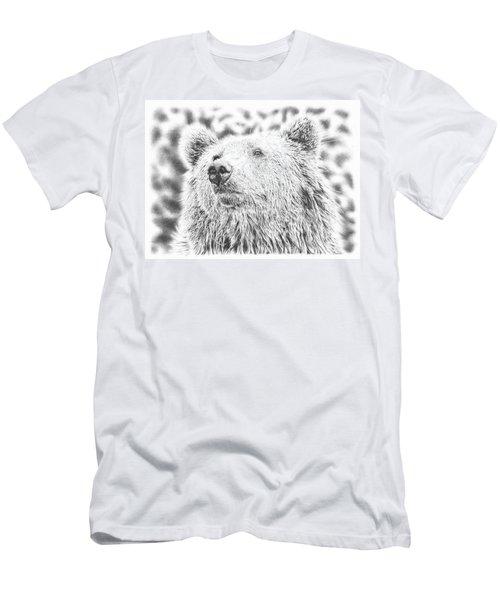 Mr. Bear Men's T-Shirt (Athletic Fit)