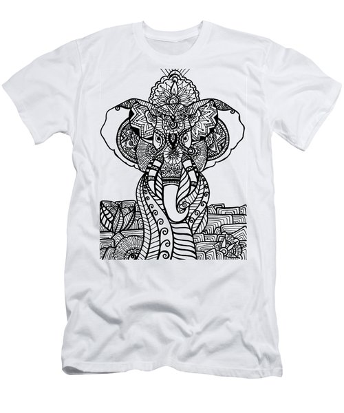 Mr. Elephante Men's T-Shirt (Athletic Fit)