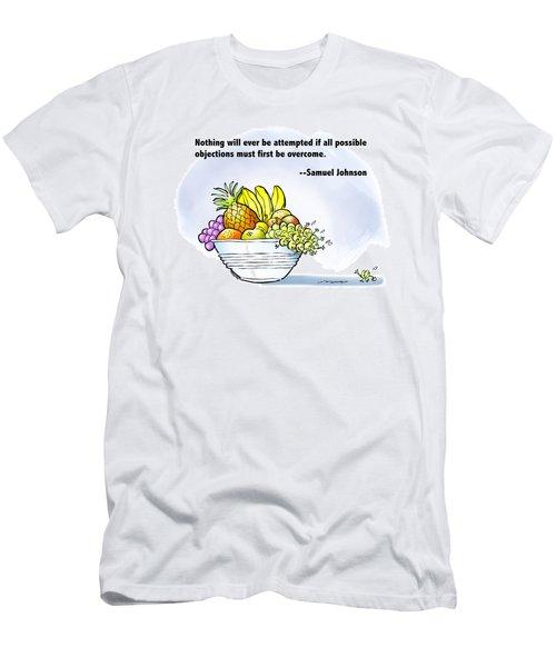 Mr. Grape And Dr. Johnson Men's T-Shirt (Athletic Fit)