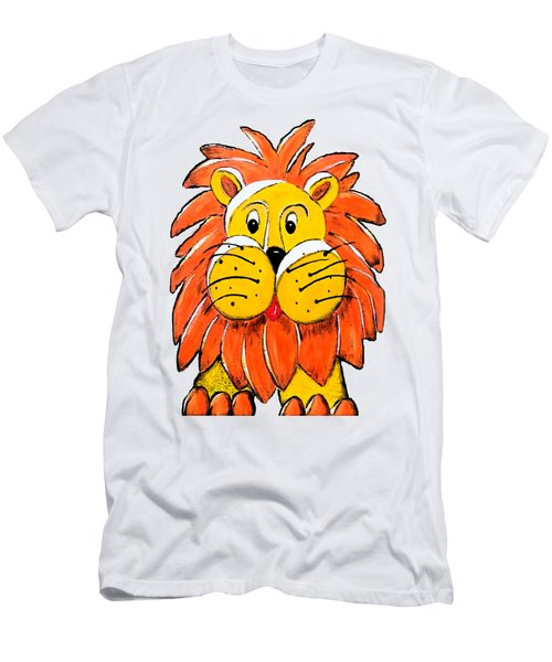 Mr. Lion Men's T-Shirt (Slim Fit) by Tami Dalton