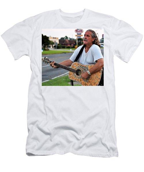 Mr. Terry Benoit Men's T-Shirt (Slim Fit) by John Glass