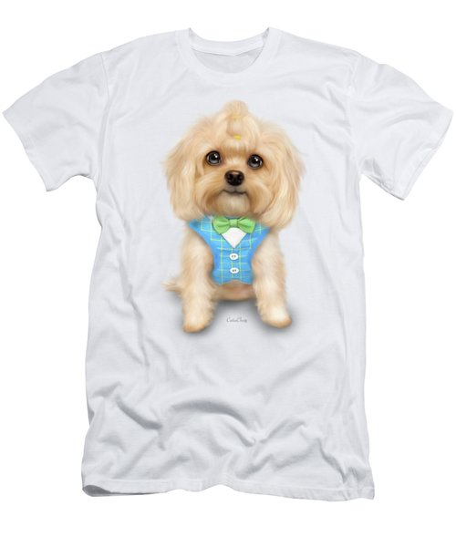 Mr.toby Waffles Men's T-Shirt (Athletic Fit)
