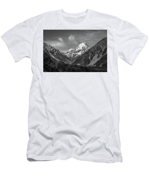 Mt Cook Wilderness Men's T-Shirt (Slim Fit) by Racheal Christian