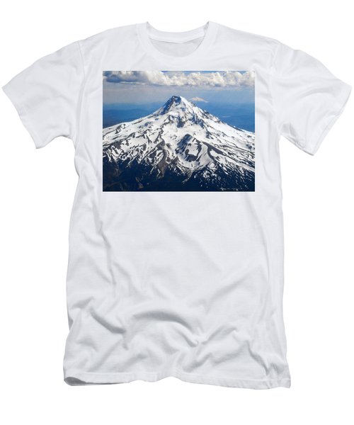 Mt. Hood From 10,000 Feet Men's T-Shirt (Athletic Fit)