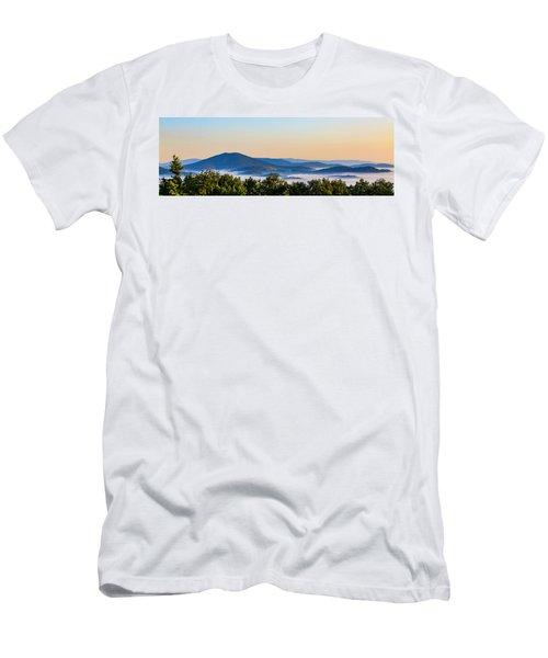 Mt. Jefferson Cloud Lake Men's T-Shirt (Slim Fit) by Dale R Carlson