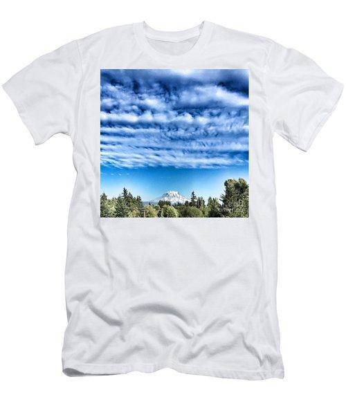 Mt Rainier Men's T-Shirt (Athletic Fit)