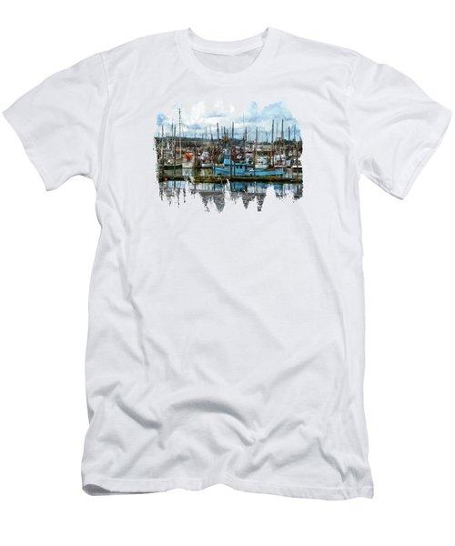 Mud Flats Men's T-Shirt (Athletic Fit)
