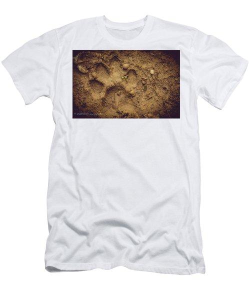 Muddy Pup Men's T-Shirt (Slim Fit) by Stefanie Silva