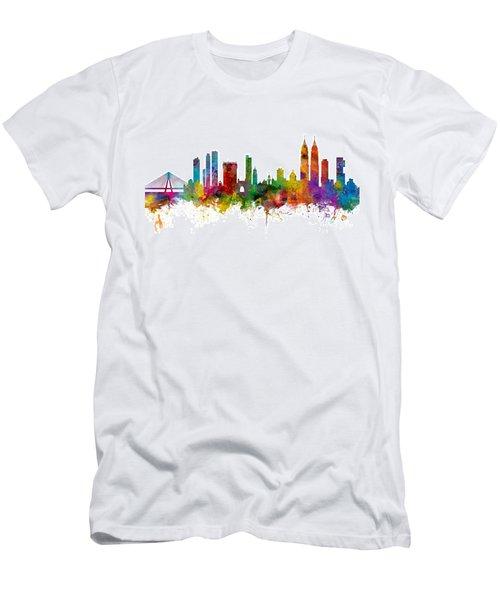 Mumbai Skyline India Bombay Men's T-Shirt (Athletic Fit)