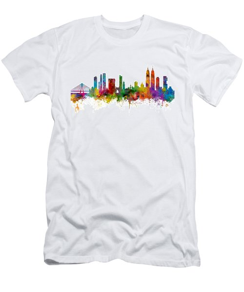 Mumbai Skyline India Bombay Men's T-Shirt (Athletic Fit)